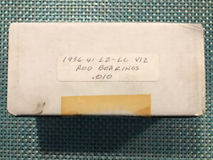 New Sealed Lincoln Zephyr Continental V12 Rod Bearings 010 Engine 1936 1941