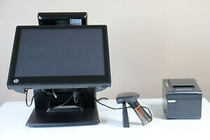 Pos System Hp Dual Touch Screen Printer Barcode Reader scanner Pos Software