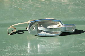 Triumph Spitfire Gt6 Chrome Door Opening Handle Lever Exterior Right