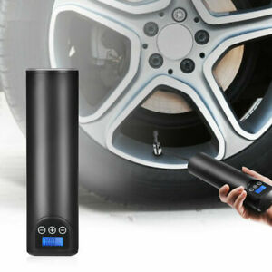 Portable Air Pump Wireless Air Electric Tire Inflator Car Bike Bicycle Lcd 12v