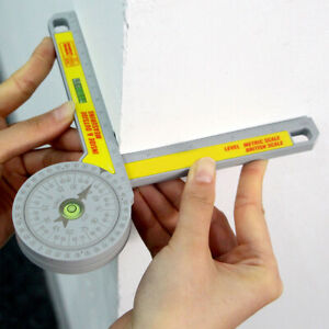 360 Degree Angle Finder Dial To Accurately Engrave Miter Saw Goniometer Uk
