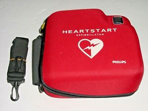 Philips M3860a Heartstart Fr2 Aed With 2025 10 Battery New Pads Case Straps