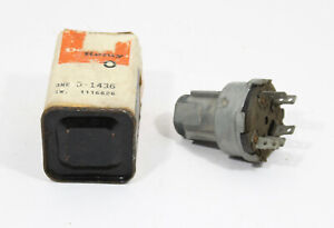 Oe 1962 1963 1964 Chevrolet Ignition Switch 1116626 D1436