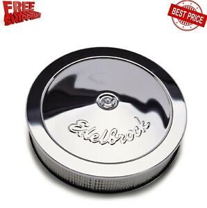 14 Car Round Air Cleaner Assembly 1207 Chrome Air Filter Adapter For Crankcase