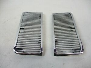 68 69 Chevelle Malibu El Camino Ss Hood Grille Louvers Inserts