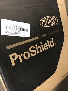 25pc Dupont Proshield 10 Protective Coverall Blue Xl W collar Brand New
