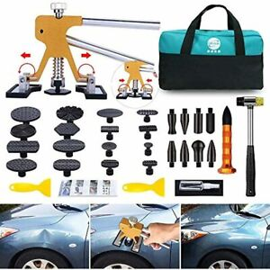 Car Dent Puller Removal Kit Auto Vehicle Damage Repair Toolkit Body Shop Tools