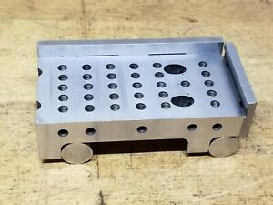 Sine Plate 2 X 4 X 1 1 8 With Guards Tool Maker Gunsmith