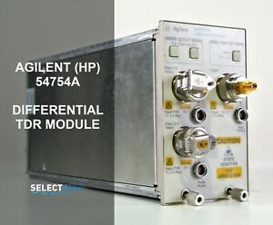 Agilent hp 54754a Differential Single Ended Tdr Plug in Module ref 107g