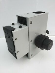Wild Microscope Universal Stand Focus Block 439168 Attachment Plate 50mm