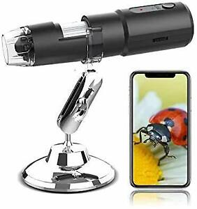Wireless Digital Microscope For Iphone 1080p Usb Microscope Camera With 50x