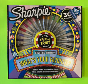 Sharpie 30 ct what s Your Favorite Limited Edition Marker Set New 2020