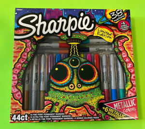 Sharpie 44 ct alien Limited Edition Permanent Marker Set New 2018