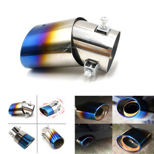 Car Vehicle Exhaust Pipe Tip Tail Muffler Stainless Steel Replacement Car Parts