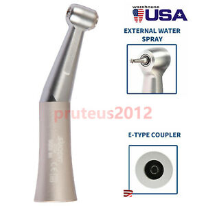 Dental Handpiece Low Speed Contra Angle 1 1 Gear Ratio Push Button Usa