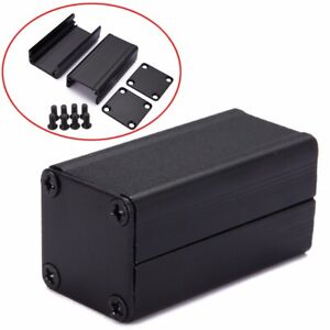50 25 25mm Black Extruded Aluminum Electronic Project Box Enclosure Case Tool
