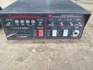 Federal Signal Touchmaster Siren