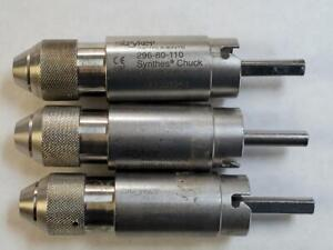 Stryker 296 80 110 Synthes Chuck 3 Available Pk