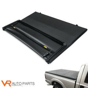 6ft Bed Lock Tri Fold Tonneau Cover Fit For 1982 13 Ford Ranger 1994 2011 Mazda