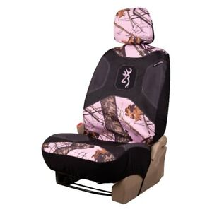 Browning Pink Camo Seat Cover Mossy Oak Auto Car Truck