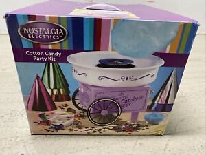 Nostalgia Cotton Candy Machine Maker Electric With Box But Not All Accessories