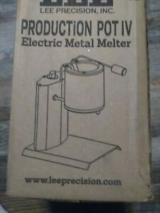 Lee 90009 Production Electric Melter All 110 Volt 4 Under Pot NEW NEVER OPENED $139.99