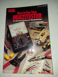 Gardner Bender Gmt bk How To Use Your Multi tester Book Learn Electrical Tester