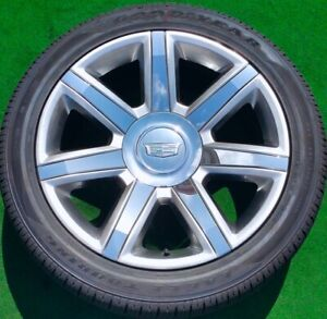Factory Cadillac Escalade Wheels New Tires 22 Inch Set Of 4 Genuine Oem Gm 2020