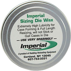 Imperial Redding Sizing Die Wax 2 Ounce Tin Md: 07600 $23.50