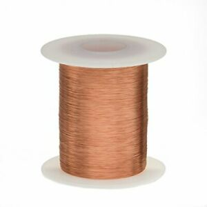 Remington Industries 34snsp 125 Magnet Wire Enameled Copper Wire Wound 34 Awg
