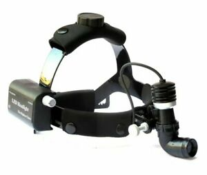 Headlight Ent Surgical Headlamp Led 10 Watt Wireless Rechargeable And Carry Case