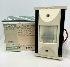 Bryant Msw 5800 120 Infrared Wall Sensor Motion Switch