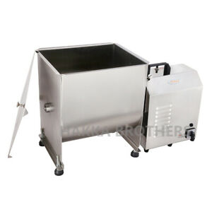 Hakka Commercial 60 Pound 30 Liter Capacity Tank Electric Meat Mixer With Motor