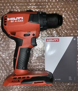 New Brushless Hilti Sf 4 A22 Cordless Drill Driver With Dual Lights No Battery