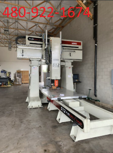 2017 Komo Fusion 512 5 Axis Cnc Router 5x12 Table Size 48 Inch Z