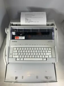 Brother Correctronic Gx 6750 Electronic Typewriter Tested Working read