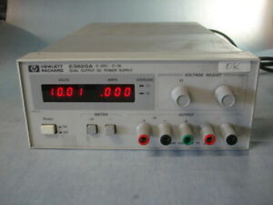 Hp Agilent E3620a Dual Dc Power Supply 0 To 25 Volts 1 Amp Each Led Displays