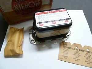 Nors 1958 1962 Buick Cadillac Olds Generator Voltage Regulator W A C Niehoff