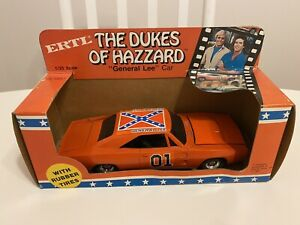 ERTL#1791 The Dukes of Hazzard General Lee with rubber tires 1 25 Scale car 1981 $150.00