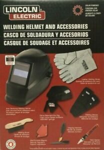Lincoln Electric Welding Kit W Helmet Accessories Kh977 Brand New Open Box