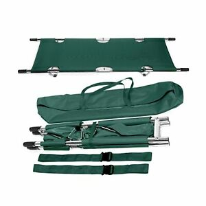 Folding Stretcher Made From Top Grade Aluminum Alloy Gurney Stretcher With He