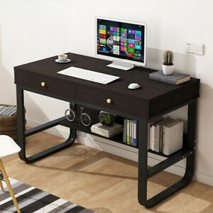 Computer Desk Laptop Office Desk Pullout Keyboard Tray With Storage Frame Drawer