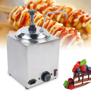2 6qt Warmer Hot Fudge Chili Nacho Buttery Topping Cheese Commercial Dispenser