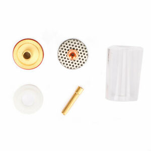 Pyrex Cup Tig Welding Gas Saver Kit For 17 18 26 Tig Torches 3 32 2 4mm U8
