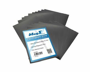 Magx Super Thick Plain Magnetic Sheets 20 Pack 30 Mil Flexible Magnet Shee