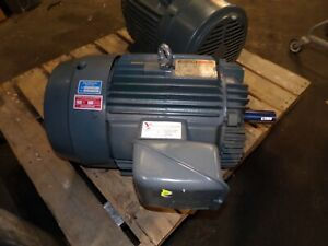 Reliance 30 Hp Ac Electric Motor 286t Frame 230 460 Vac 1770 Rpm Tefc 3 Phase