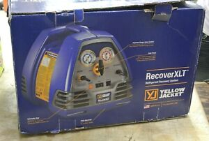 Ritchie Yellow Jacket 95760 Recovery Xlt Refrigerant Recovery Machine