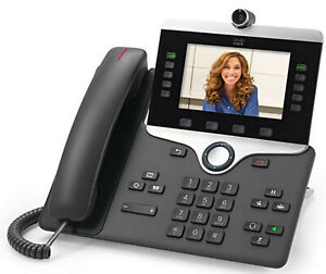 Cisco Cp 8845 k9 Voip Video Phone Tested Newest Firmware Clean Cloud Compatble