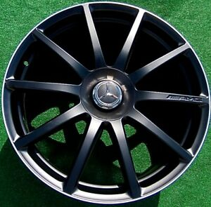 Factory Mercedes Benz S65 Wheels Genuine Oem Amg Black 20 Inch Forged S63 S560