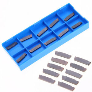 10pcs Mgmn200 g Lda Carbide Inserts Blades For Grooving Cutting Lathe Tool
